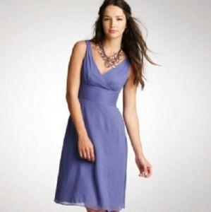 J. CREW Chiffon Sophia Mob Dress